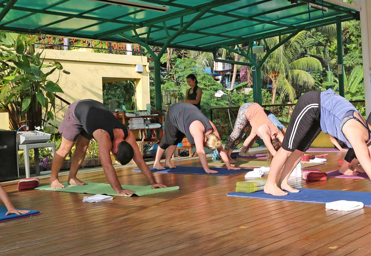 Students Yoga Teacher Training - India