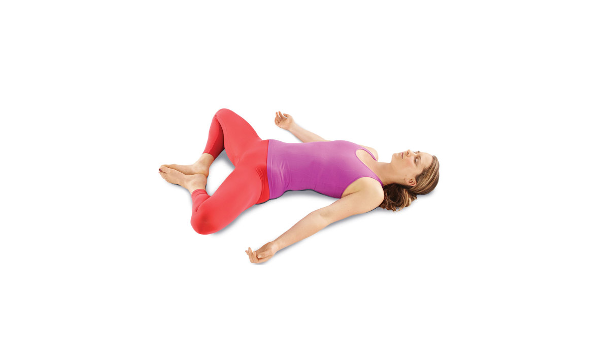 Reclined Bound Angle Pose - Romantic Yoga Pоѕеѕ
